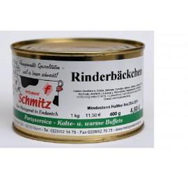 Ochsenbäckchen in Rotwein-Schalottensoße